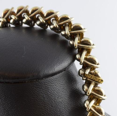 Antique Jewellery  - Hermès - Vermeil silver necklace