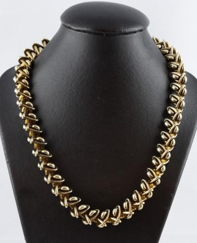 Hermès - Vermeil silver necklace -