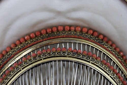 Combs in gilded silver vermeil - Antique Jewellery Style Art nouveau