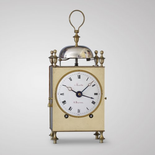 Martin à Bagnol, early 19th C. French Capucine - Clocks Style Empire