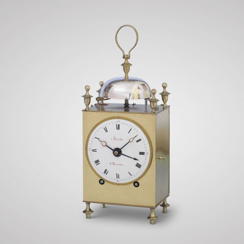 Clocks  - Martin à Bagnol, early 19th C. French Capucine