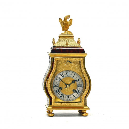 Late 17th C. Fine and Small Portable Clock, Ourry à Paris