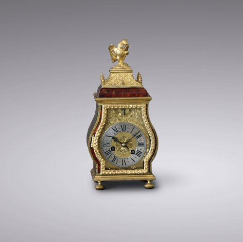 Late 17th C. Fine and Small Portable Clock, Ourry à Paris - Clocks Style Louis XIV