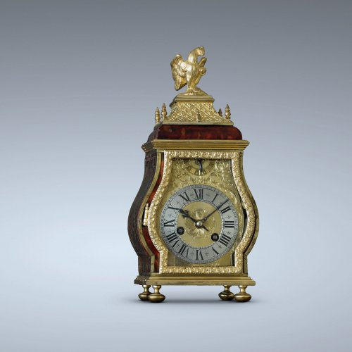 Late 17th C. Fine and Small Portable Clock, Ourry à Paris -