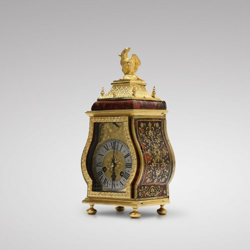 17th century - Late 17th C. Fine and Small Portable Clock, Ourry à Paris