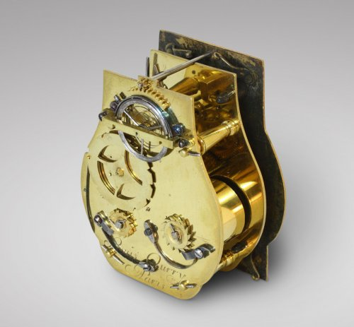 Late 17th C. Fine and Small Portable Clock, Ourry à Paris - Louis XIV