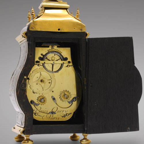 Antiquités - Late 17th C. Fine and Small Portable Clock, Ourry à Paris