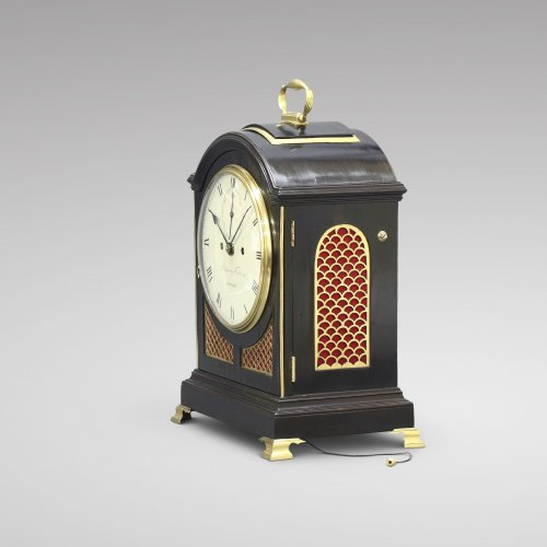 Georgian Bracket Clock, by Parkinson & Frodsham - Clocks Style