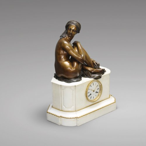 """Odalisque"" after James Pradier - Clocks Style Louis-Philippe"