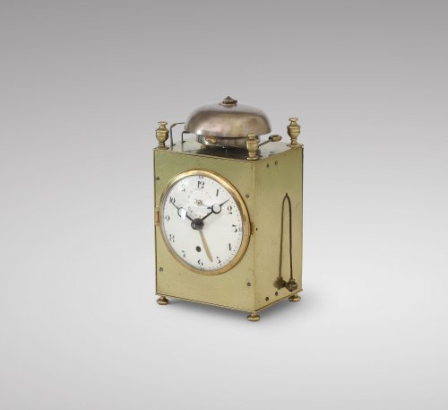 Travelling Clock od Small Size With Complications - Clocks Style Restauration - Charles X