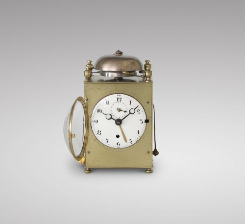 Travelling Clock od Small Size With Complications -