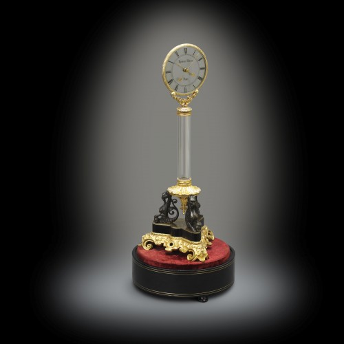 Triple Mystery Clock, Masterpiece from Robert-Houdin -