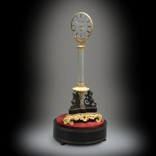 Louis-Philippe - Triple Mystery Clock, Masterpiece from Robert-Houdin