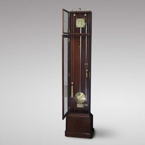 19th century - French Shallow Longcase Regulator by Jarossay