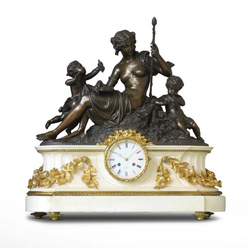 """Autumn"", Large Mantel Clock"