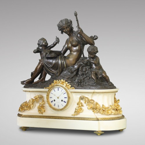"Clocks  - ""Autumn"", Large Mantel Clock"