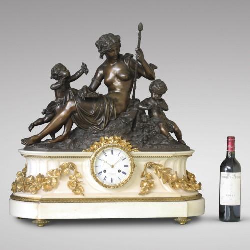 """Antiquités - """"Autumn"""", Large Mantel Clock"""