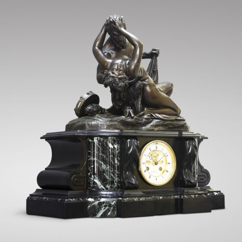 "Clocks  - ""Satyr and Bacchante"" after James Pradier"