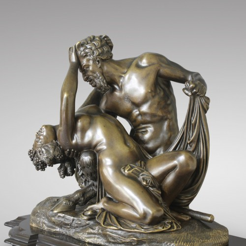 "19th century - ""Satyr and Bacchante"" after James Pradier"