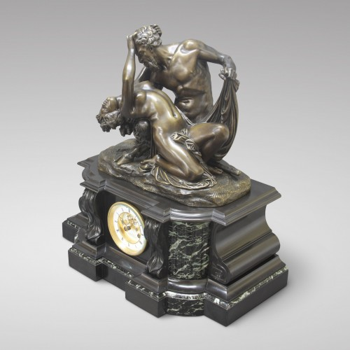 """Satyr and Bacchante"" after James Pradier  - Napoléon III"