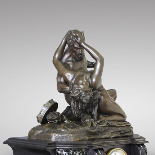 "Napoléon III - ""Satyr and Bacchante"" after James Pradier"