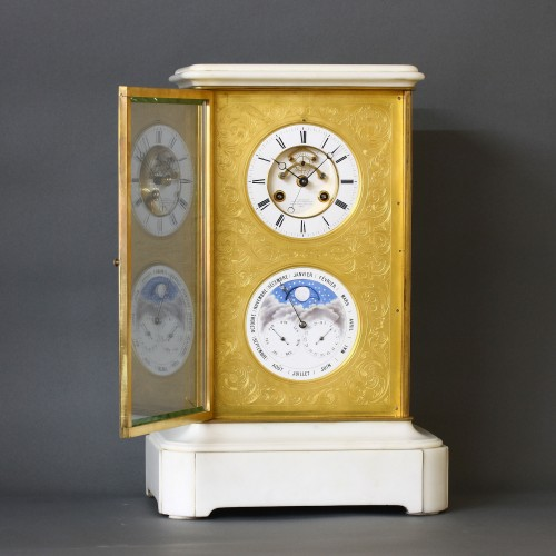Clocks  - Precision Table Regulator with Perpetual Calendar by Detouche