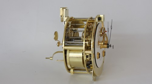 Antiquités - Precision Table Regulator with Perpetual Calendar by Detouche