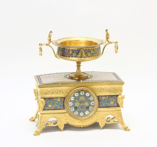Clocks  - Orientalist Garniture, by Barbedienne and Sévin