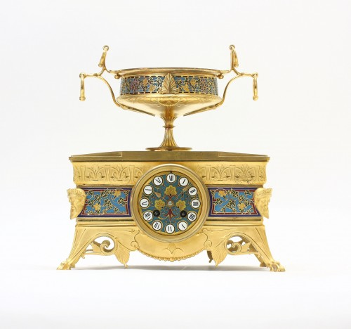 Orientalist Garniture, by Barbedienne and Sévin -