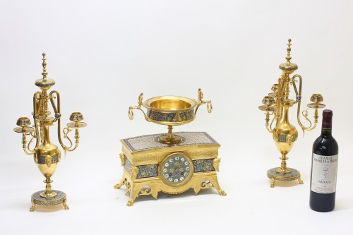 Antiquités - Orientalist Garniture, by Barbedienne and Sévin