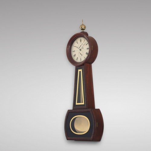 American Precision Wall Regulator by Aaron Willard Jr - Clocks Style Louis-Philippe