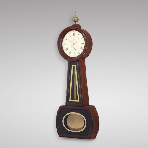 Clocks  - American Precision Wall Regulator by Aaron Willard Jr