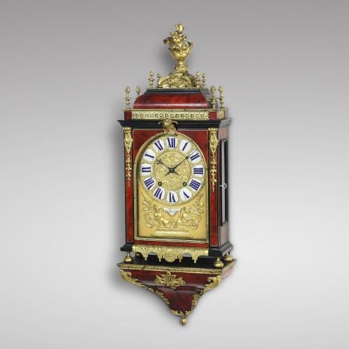 Clocks  - Early 18th Century Cartel Clock, Thuret à Paris