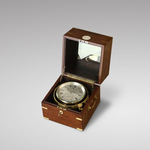 Eight-Day Duration Marine Chronometer, Aldred & Son - Clocks Style Napoléon III
