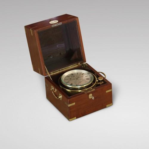 Clocks  - Eight-Day Duration Marine Chronometer, Aldred & Son