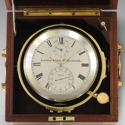 Eight-Day Duration Marine Chronometer, Aldred & Son -