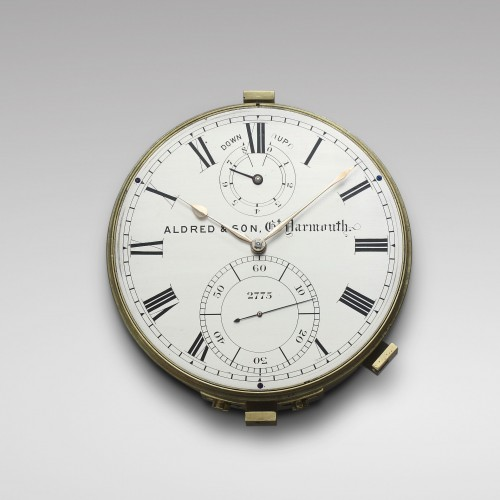 19th century - Eight-Day Duration Marine Chronometer, Aldred & Son
