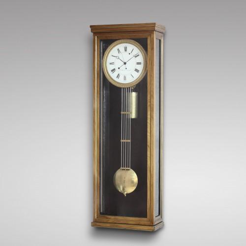 Clocks  - One Year-Going Precision Wall Regulator, Gilles Deherve à Jupille