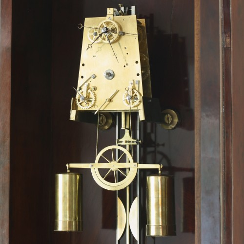 Louis-Philippe - Precision calendar floor-standing regulator with experimental pendulum