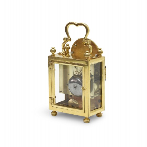 18th century - 18th C. French portable clock with month calendar, Louis XVI-period