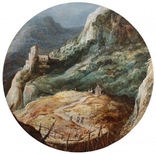 Joos de Momper (1564-1635) - Animated landscape