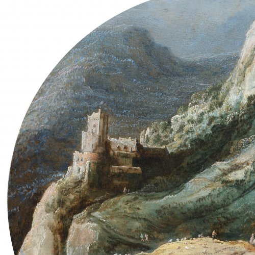 Joos de Momper (1564-1635) - Animated landscape - Paintings & Drawings Style
