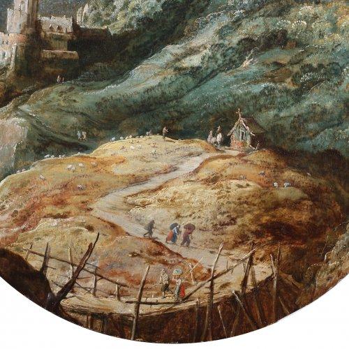 Paintings & Drawings  - Joos de Momper (1564-1635) - Animated landscape