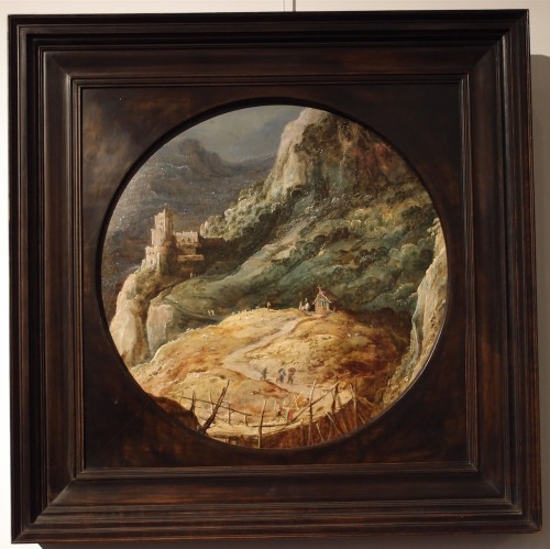 Joos de Momper (1564-1635) - Animated landscape -