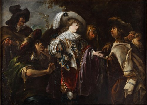 The fortune teller - Jan Cossiers ( 1600 -1671)