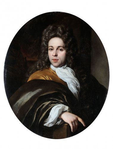 Paintings & Drawings  - A portrait of a member of the van Brienen family
