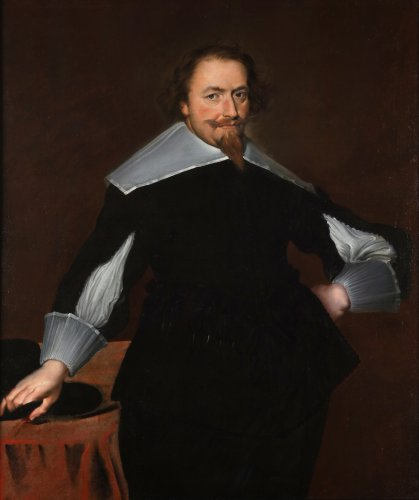 Portrait of a gentleman - Jan de Pay (attributed to)