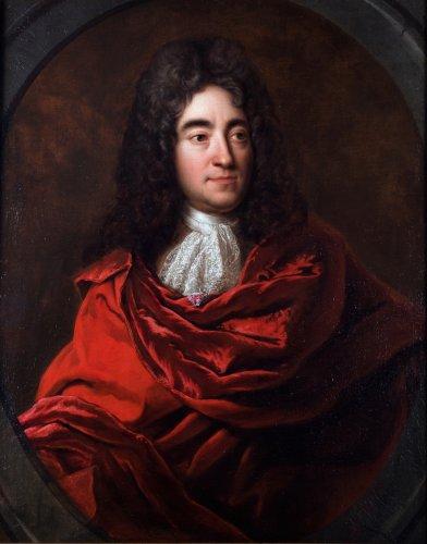 Portrait of the famous Philippe Quinault
