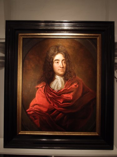 Portrait of the famous Philippe Quinault - Paintings & Drawings Style