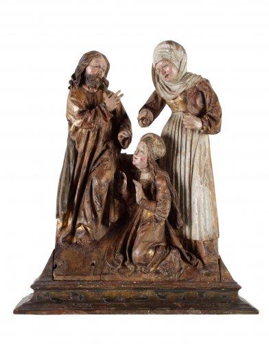 Christ as gardener, late 15th century